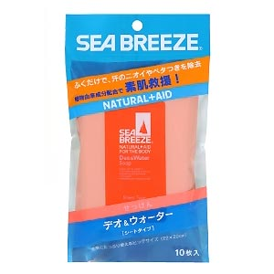 shiseido 资生堂 sea breeze皂香轻爽湿巾 10枚